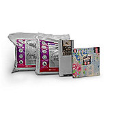 Campus Life 13.5 Tog University Bedding Bundle - Double