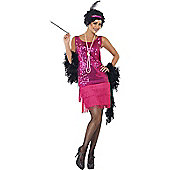 Sequin Flapper Costume Large