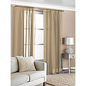 Slot Top Voile (Pair) - Beige