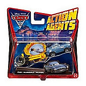 Cars 2 Action Agents Vehicles Asst