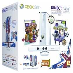 Xbox 360 Special Edition 4GB Kinect Family Bundle