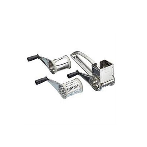 Kitchen Craft Stainless Steel Rotary Grater With Three Drums