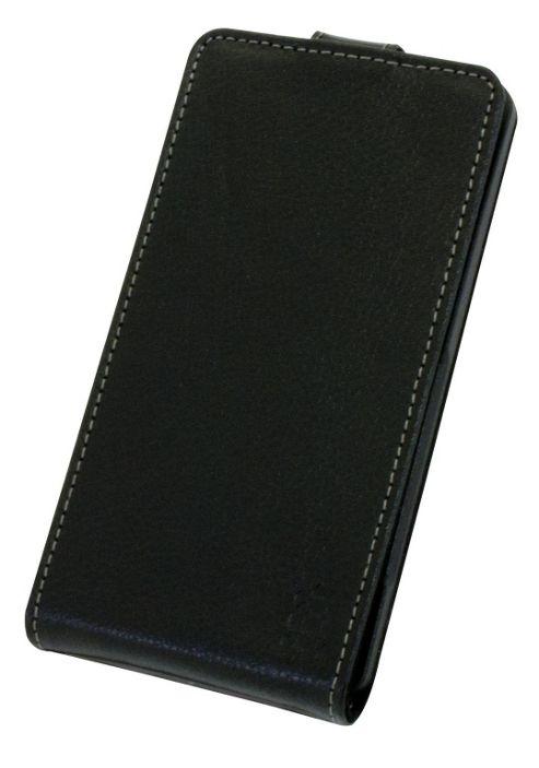 Tortoise™ Genuine Leather Flip Case Sony Xperia Z Black