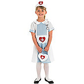 Child Nurse Costume Medium