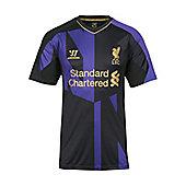 2013-14 Liverpool Warrior Training Shirt (Black-Purple) - Kids - Black