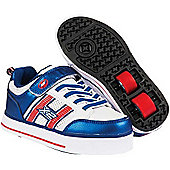 Heelys Bolt 2.0 Blue/White/Red Heely X2 Shoe - Blue
