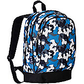 Kids' Backpacks- Blue Camo