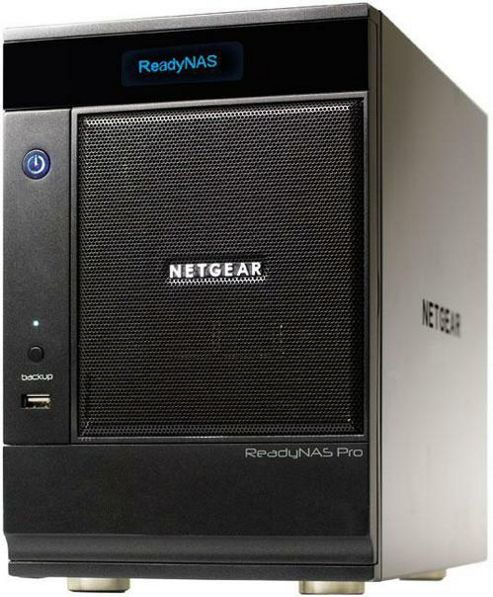 NETGEAR - Netgear ReadyNAS PRO 6 6-bay unified network storage for Business 12TB (6x2TB)