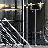 Roger Pradier Bristol 1 No. 6 Post Lantern - Metal Grey