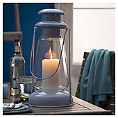 Metal Miners Lantern Large, Blue