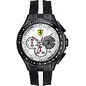 Scuderia Ferrari Gents Textures Of Racing Chronograph Watch 0830024