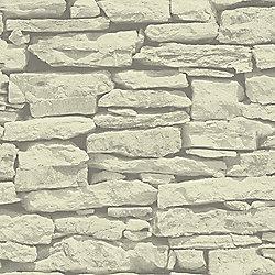 Moroccan Wall Sand Slate Stone Wallpaper - Arthouse 623008