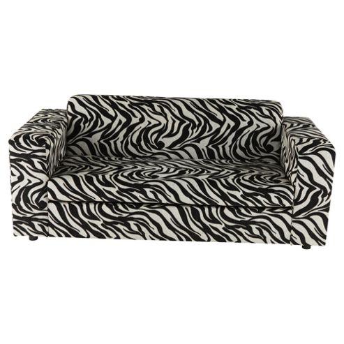 Stanza Fabric Sofabed Zebra