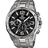 Casio Mens Stainless Steel World Time Watch EFR-538D-1AVUEF