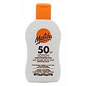 Malibu Sun Lotion SPF50 High Protection 200ml