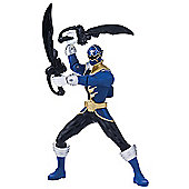 Power Rangers Super Megaforce 16cm Battle Morphin Figure - Blue Ranger