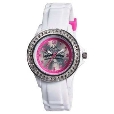 Tikkers Diamonte Bezel Princess Watch