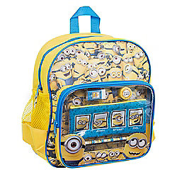 Despicable Me Minions With Stationery Backpack