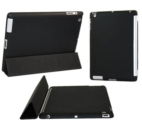 Black Smart ProGel Skin Case For Apple iPad 4 (4th Generation Lighting)