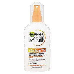 Ambre Solaire Moisturising Spray SPF15 200ml