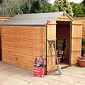 8x6 Windowless Overlap Apex Shed