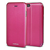 CaseBase Flip Folio Case for Apple iPhone 6 and Iphone 6s - Pink