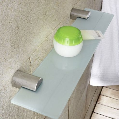 Blomus Duo Glass Shelf, Wall-Mounted