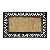 Dandy Wrought Iron and Coir Mat - 75cm x 45cm