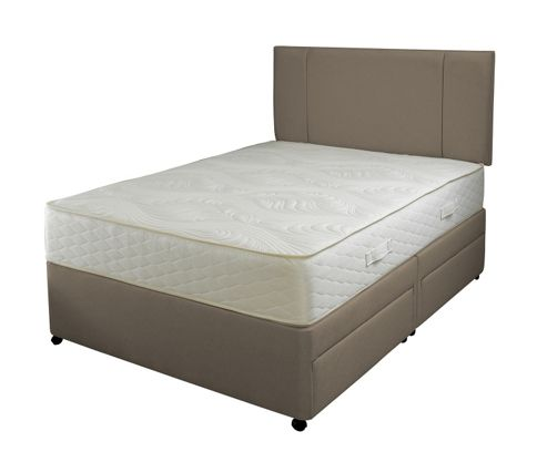 Slumberland 1000 Memory Pocketflex 2 Drawer Single Divan