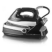 Swan SI9050N Compact Steam Generator Iron with 2400W and 1500ml Tank in Black