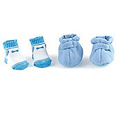 Dolls World Shoes and Socks Blue