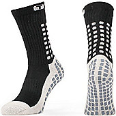 Trusox Mid-Calf Sock Thin - Black