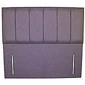 Small Double (120cm) Malaga Headboard - Sumatra Plain Lilac
