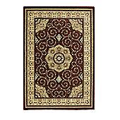 Oriental Carpets & Rugs Heritage 4400 Red Rug - 120cm x 170cm