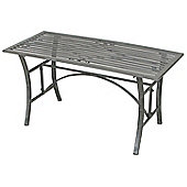 Bentley Garden Wrought Iron Outdoor Grey Coffee Table