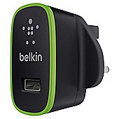 Belkin sleek stand alone universal charger. 2.1 amp in black