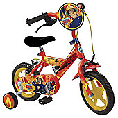 "Fireman Sam 12"" Kids' Bike"