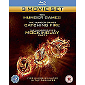 The Hunger Games: Triple Pack Blu-Ray (3 Disc)