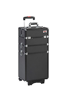 Beautify 4-in-1 Black Make Up Cosmetics Beauty Trolley