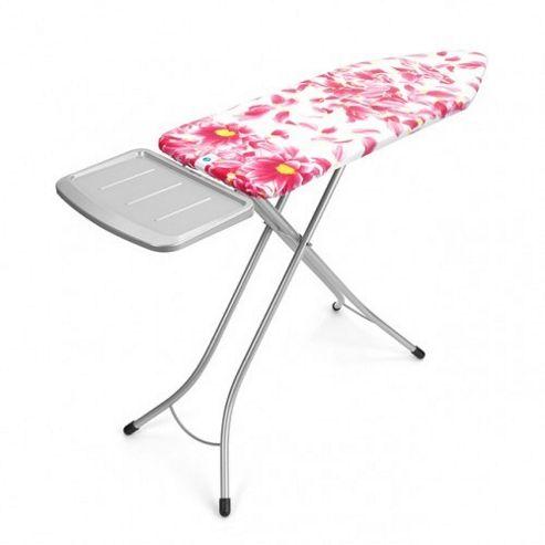 buy brabantia ironing board 124x45cm with soild steam unit. Black Bedroom Furniture Sets. Home Design Ideas