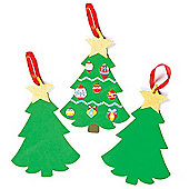 Christmas Crafts Tree Foam Blanks (6 Pcs)