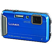 Panasonic DMC-FT30 16.1MP 720pHD Camera with 2.7LCD - Blue