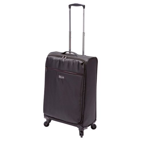 Revelation by Antler Alight 4-Wheel Suitcase, Black Medium