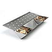 Callow Long Stainless Steel V-Shaped Smoke Box with water reservoir