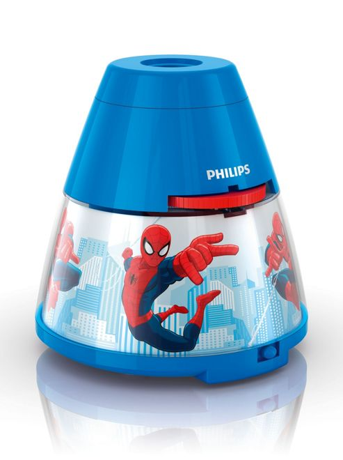 Buy Philips Marvel Spider-Man Frozen 2 in 1 Projector Light from our Novelty Lighting range - Tesco