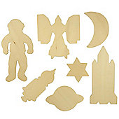 Bigjigs Toys BJ021T19 Space Drawing Templates
