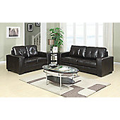 Sofa Source Rose Bonded Leather Seating Group