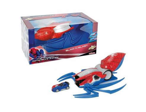 The amazing Spiderman Slam 'n' Blast Spider Launcher