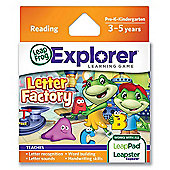 LeapFrog Explorer™ Learning Game: Letter Factory