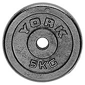 York Fitness Y Cast Plate 5kg - Single